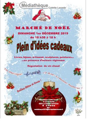 Marché de Noël La Chapelle St Ursin