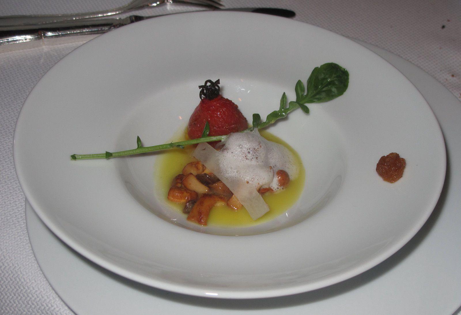 Repas au Petit Nice à Marseille