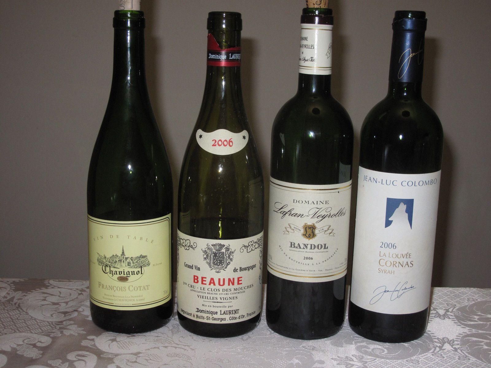 Le millésime 2006 en quatre vins