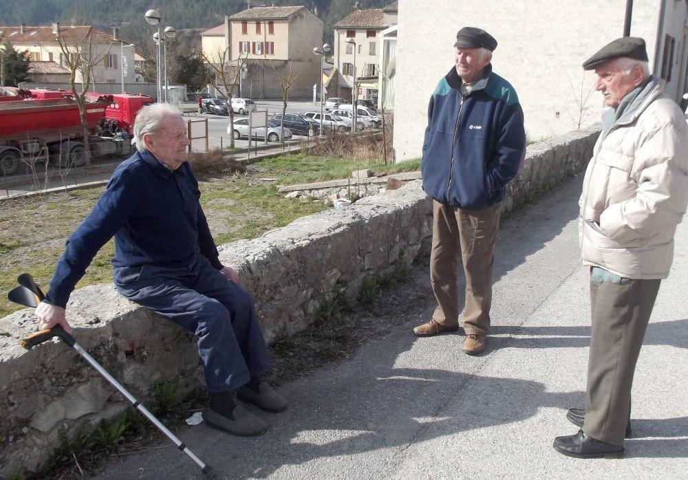Fernand FERAUD Lolo Gastinel et Dédé Rouvier