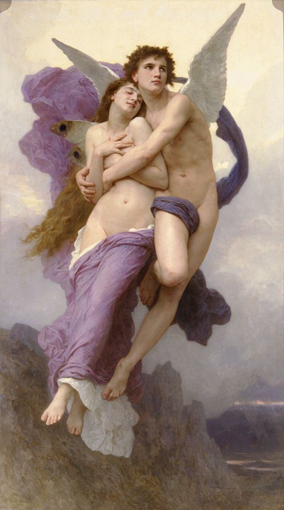 Le ravissement de psychée - William Bouguereau