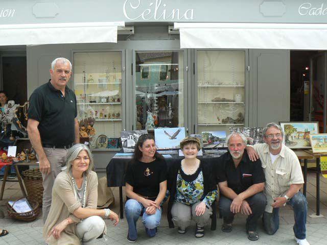 St André les Alpes 4 Artistes rencontrent leur public