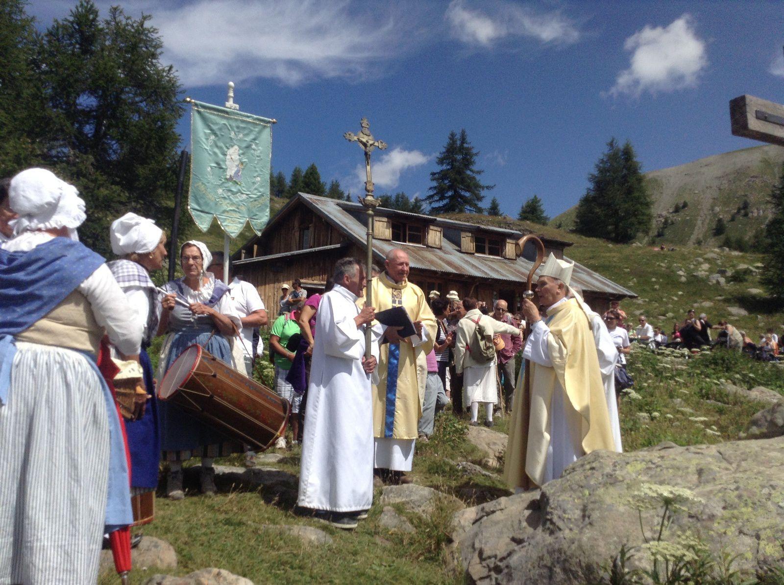 Fête du Lac d'Allos, inauguration des travaux de restauration de la chapelle Notre Dame des Monts
