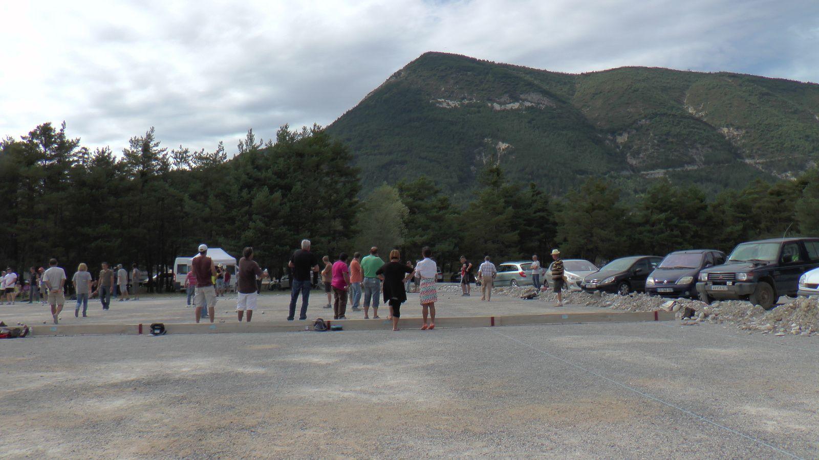 les bulles du concours de provençal de St André les Alpes