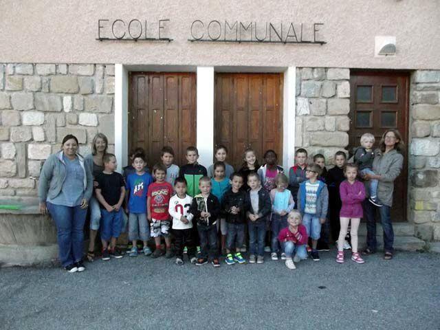 Rentrée scolaire à Clumanc-Tartonne