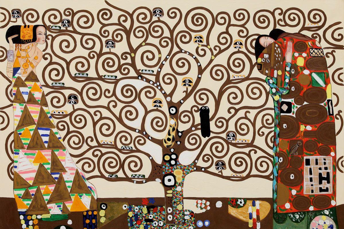 Klimt (Gustav) L'arbre de vie