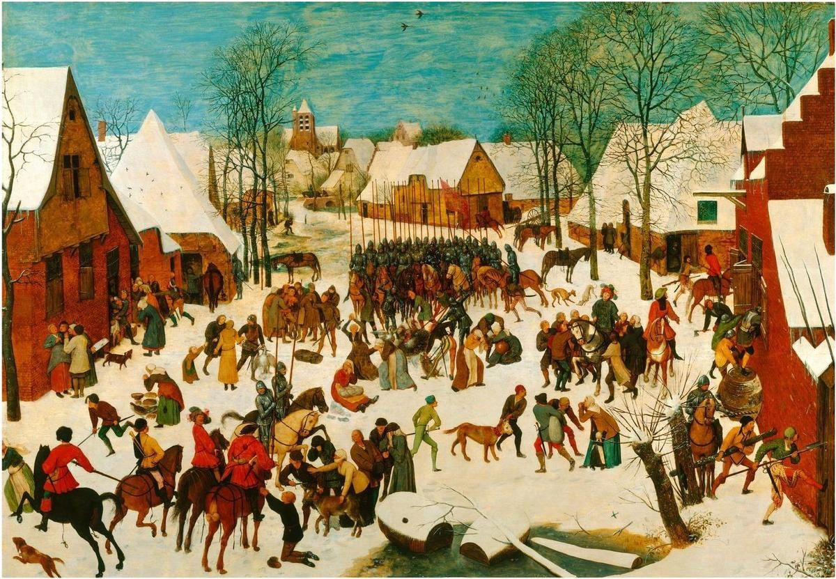 Bruegel-Le Massacre des innocents