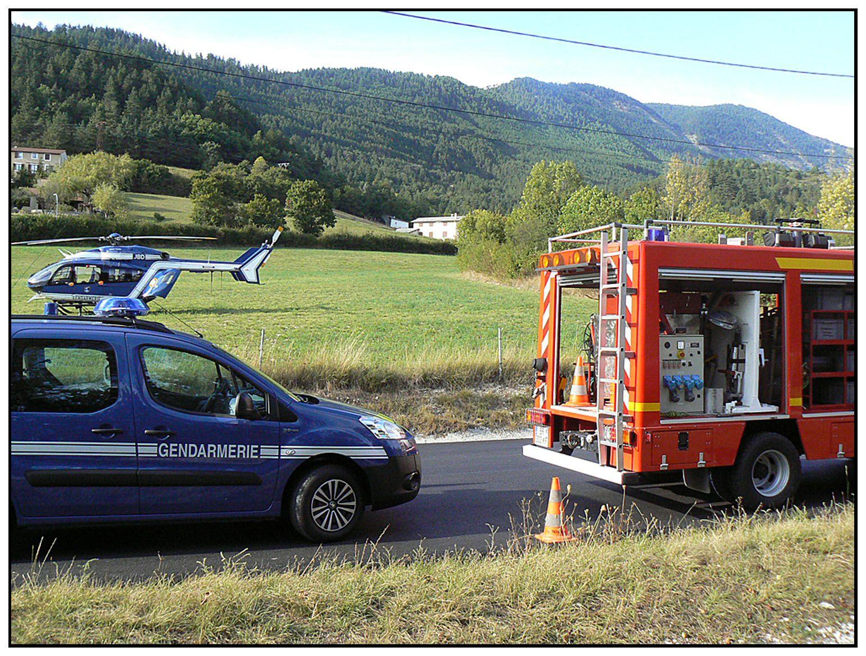 La Mure-Argens : auto contre moto à l'entrée de La Mure-Argens