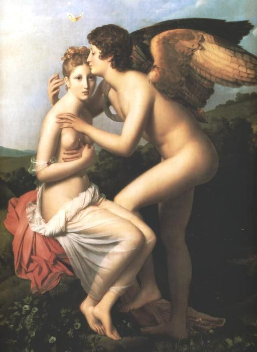 Baron Francois-Gérard-Psyche and Amour