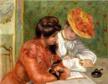 Renoir (Auguste)-La lettre
