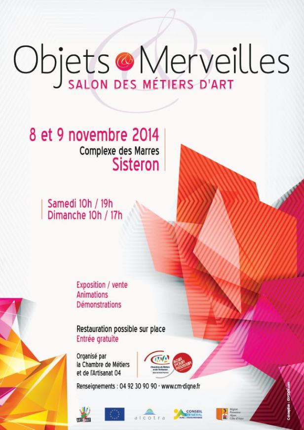 Sisteron Objets et Merveilles : une Barrêmoise expose