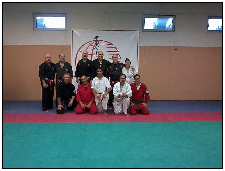 Info Club Goshindo St André les Alpes le stage à Montargis