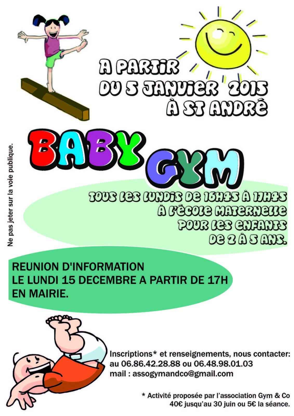 """Nouvelle activité sur St André les Alpes par l'association """"Gym an Co"""""""