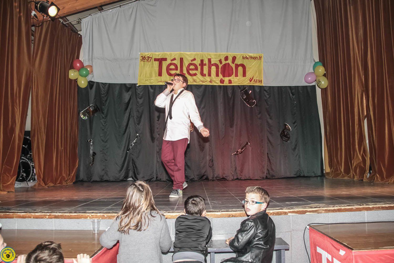 Vendredi c'était Téléthon , St André les Alpes