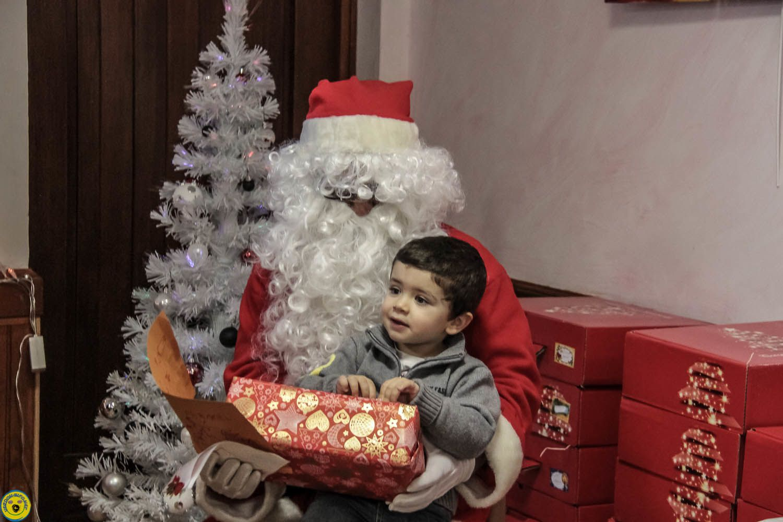 Le goûter de Noël de St Julien du Verdon