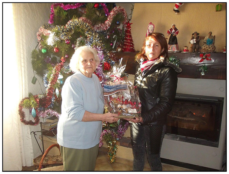 Barrême  les seniors choyés pour Noël