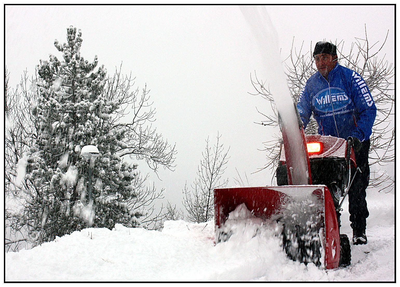 Info Val d'Allos , la neige est arrivée , 27 décembre 2014