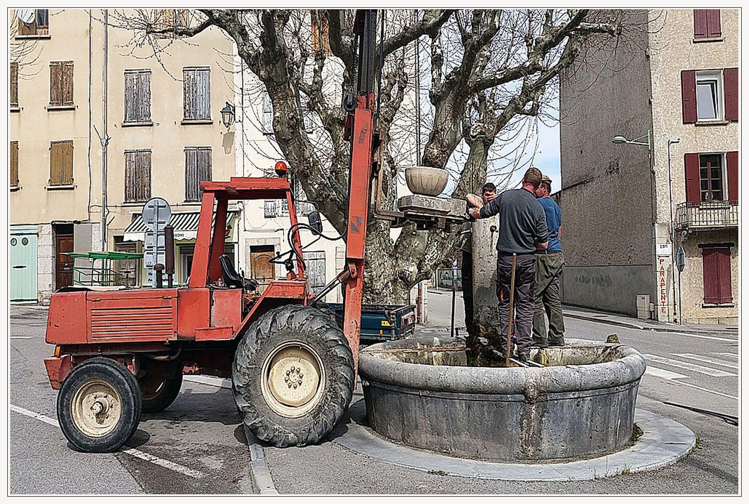 Histoire d'eau  et de fontaine à Barrême
