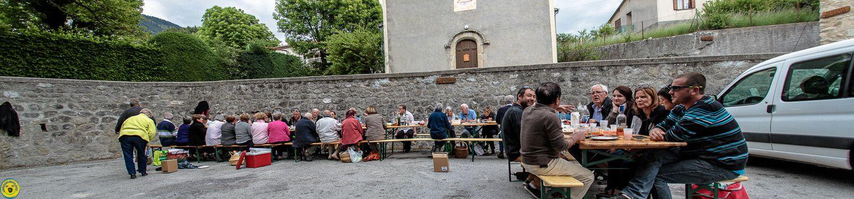 La fête des voisins , La Mure Argens , Association le Riou