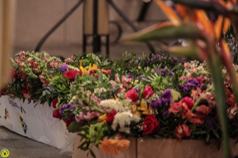 le Lundi de la pentecôte , pèlerinage, messe , exposition ,  repas rencontre et chant que du bonheur