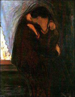 La page poésie d'Odile  : La couleur des baisers