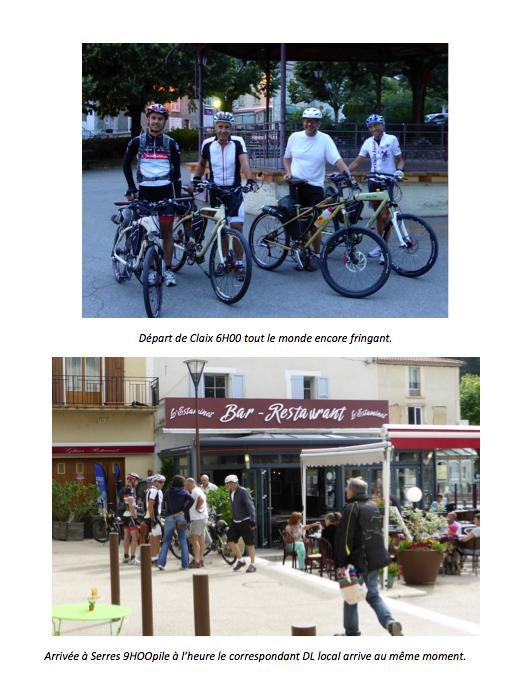 Record d'efficacité énergétique : Grenoble Nice avec 1 litre. Interview et explication Yvan Pesenti