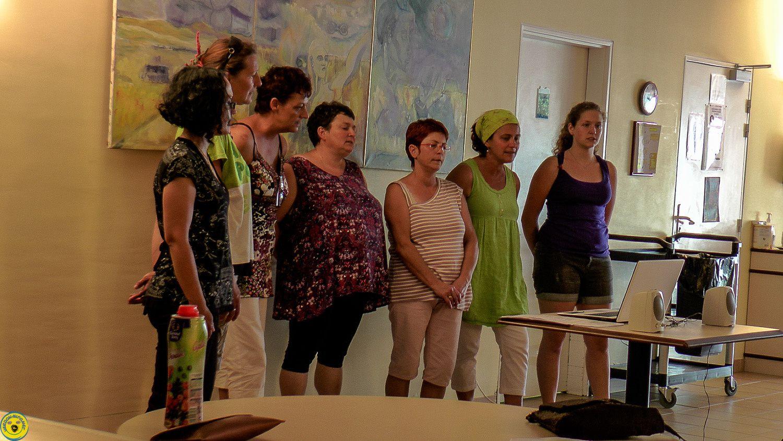 L'ADMR de St andré les Alpes chante pour les résidents