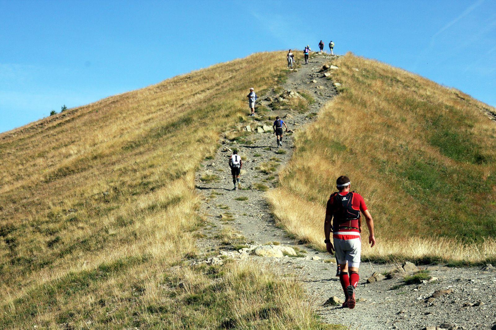 21ème Trail du Val d'Allos  Dimanche 26 juillet 2015,Sébastien CAMUS remporte le 37 km