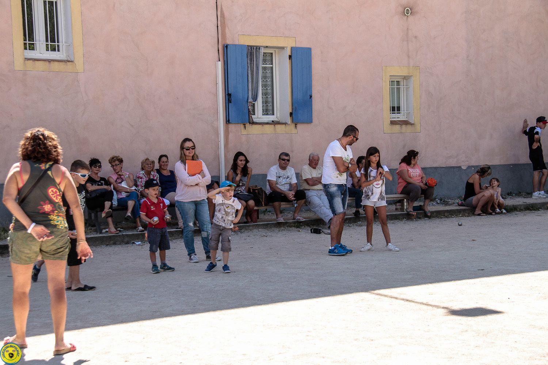 Concours enfants , semaine bouliste St André les Alpes
