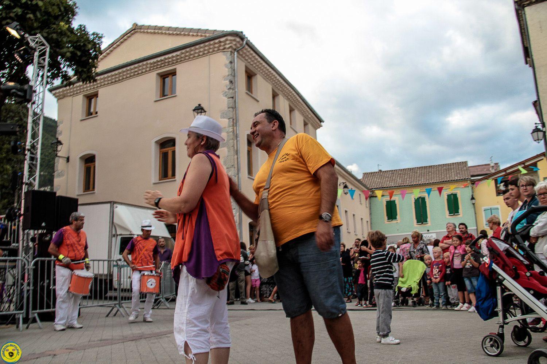Images des festivités du vendredi 21 août St André les Alpes