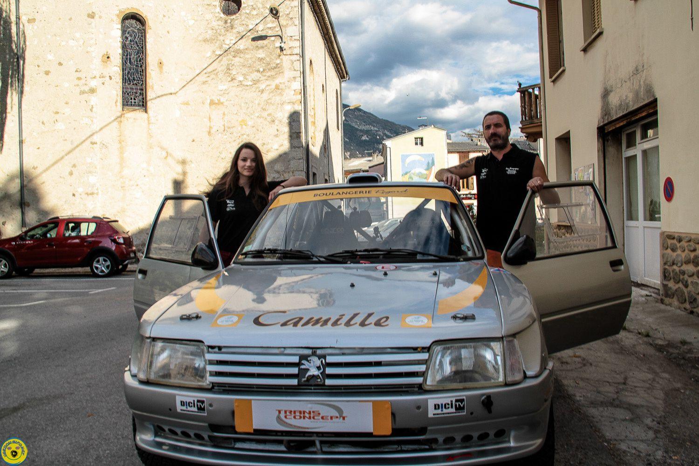 Rallye des Cardabelles le duo Père Fille, Hervé et Camille Regord sera présent à l'édition 2015.