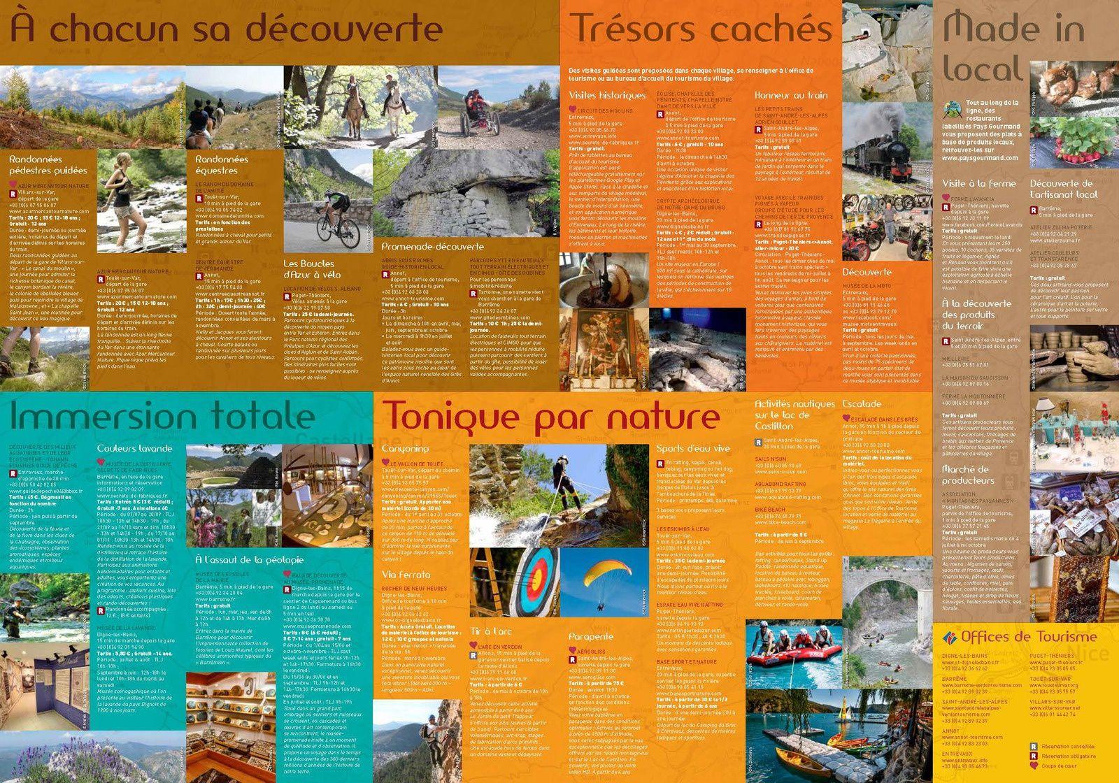 Office de Tourisme: stratégie marketing autour de la ligne CP