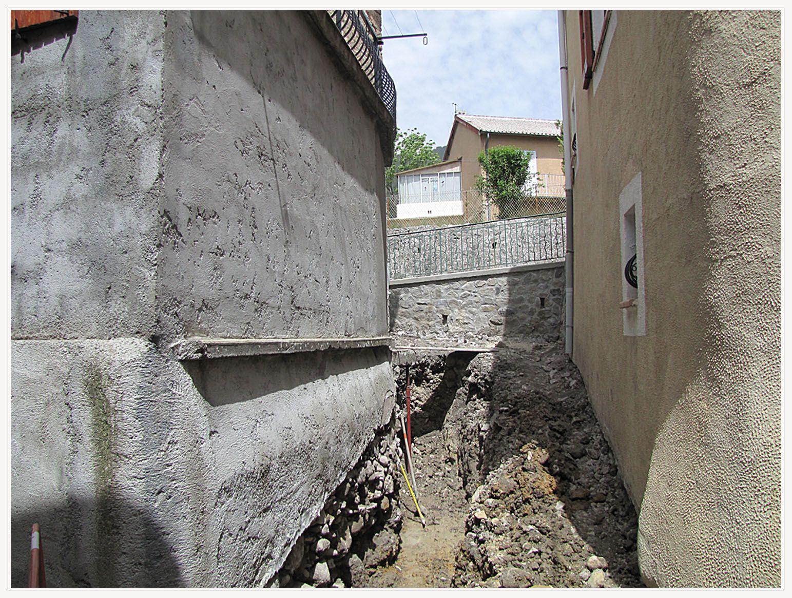 La Mure Argens , les Travaux eau &  assainissement
