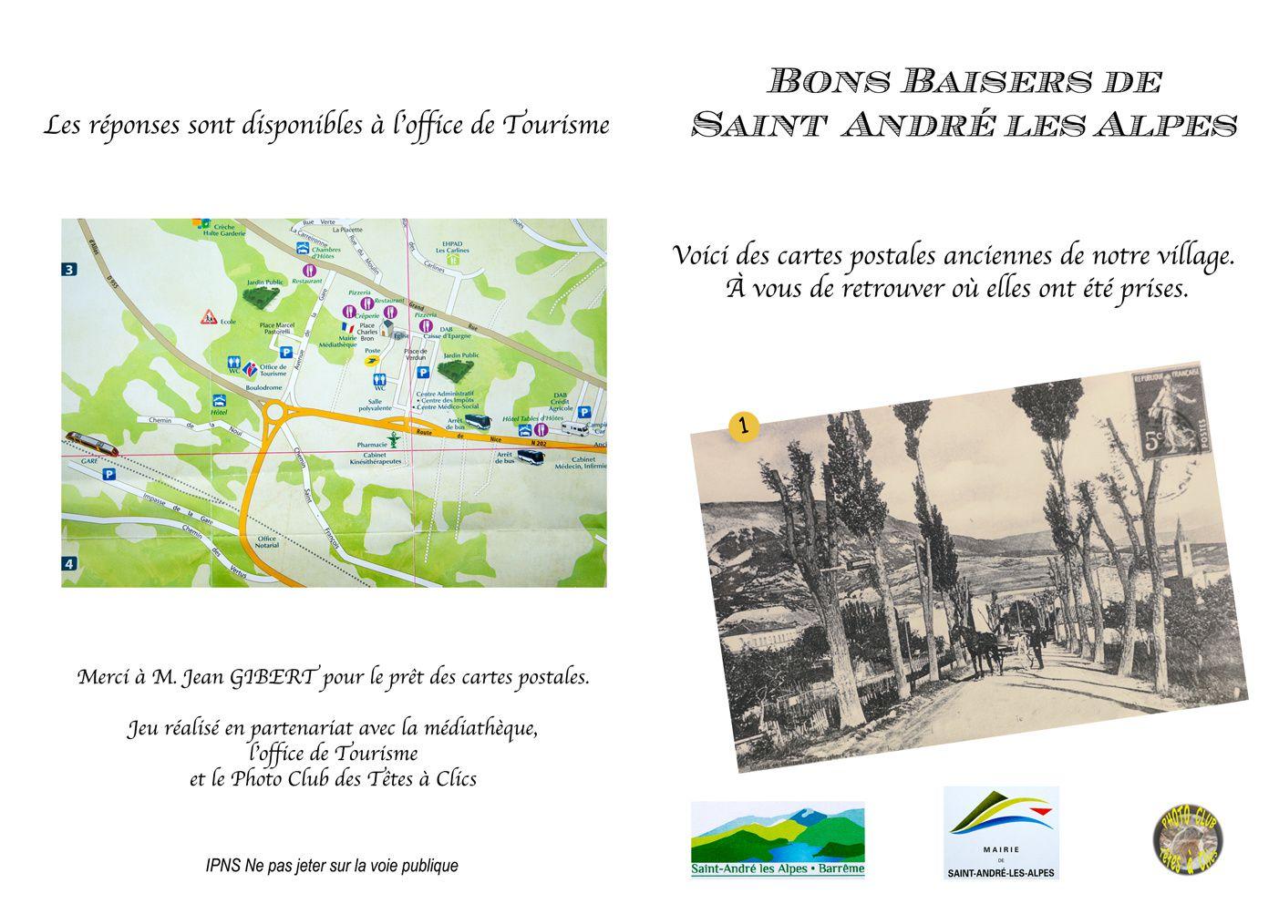 Saint André les Alpes: La journée des cartes postales anciennes a ravivé le souvenir