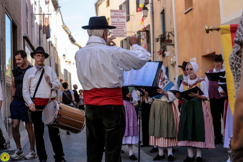 St André les Alpes  : La fête provençale  ( 2 reportages  dans un seul article)