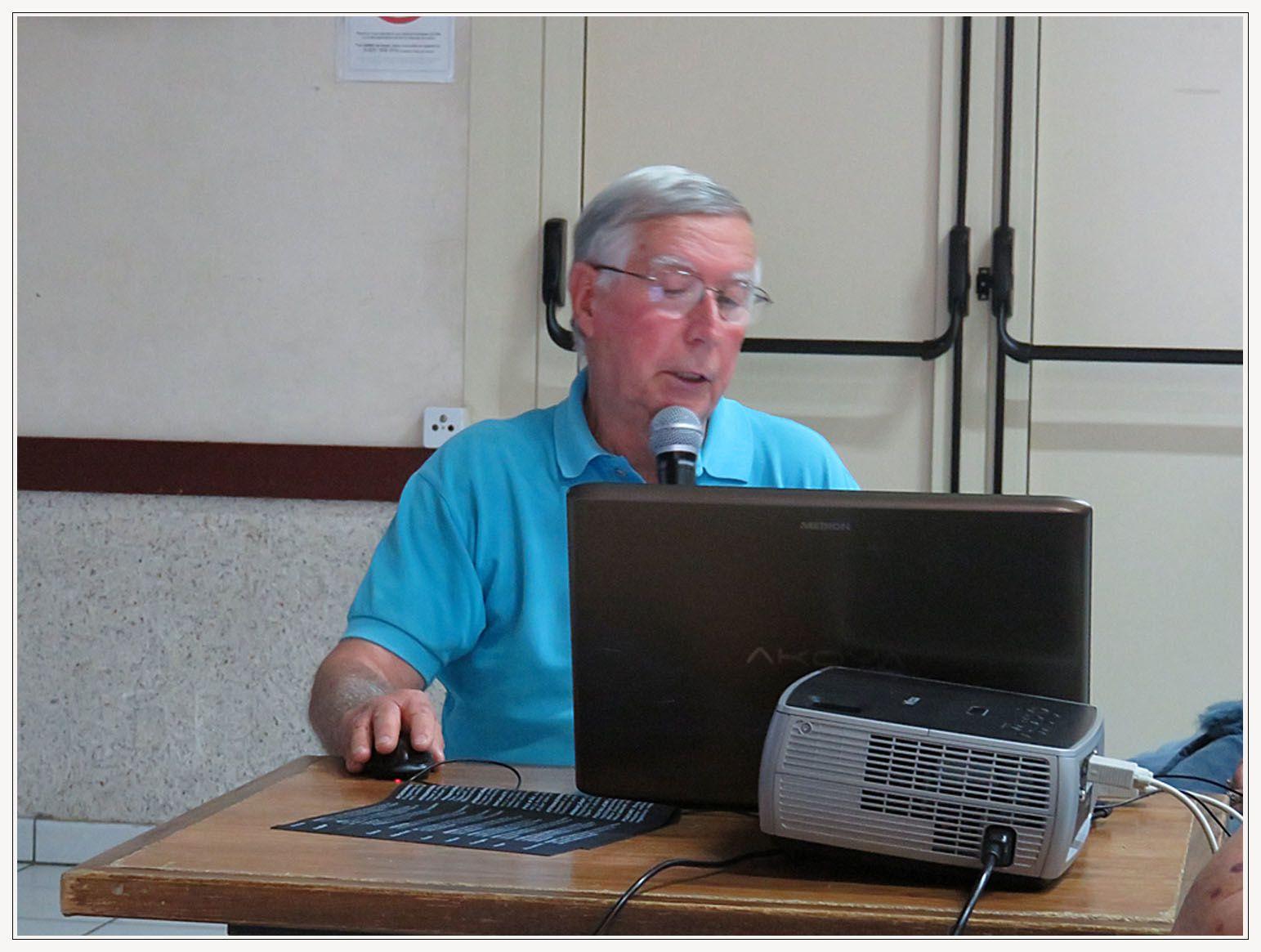 Saint André les Alpes : conférence de JP Reboul  De l'eau, des moulins, des fabrique... pour les rencontres du Moyen Verdon
