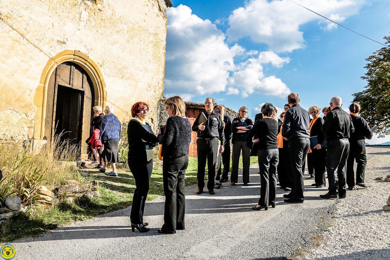 La chorale Hélianthis de Marseille  était à Clumanc