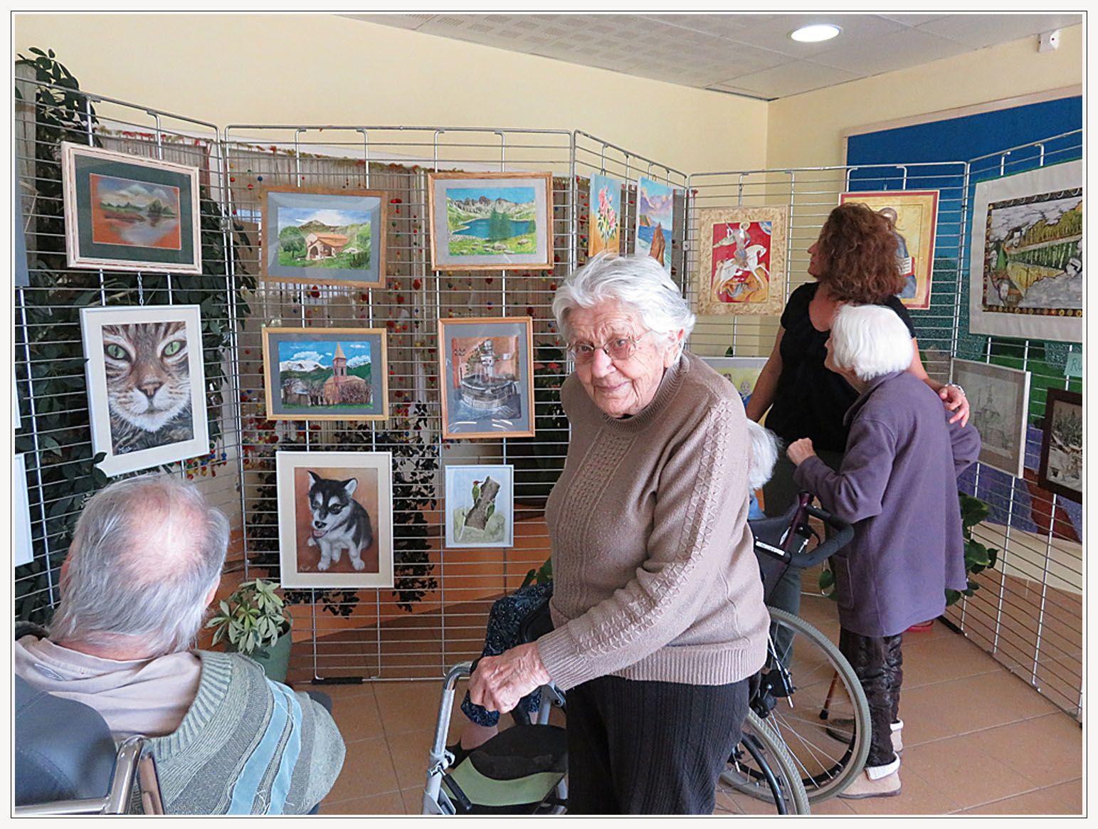 Saint André les Alpes : L'association de dessin se délocaliseaux Carlines