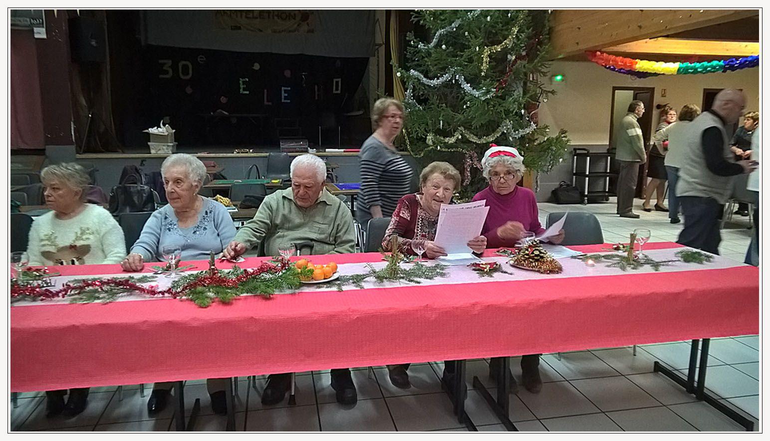 Roudoulet de Chamatte  : le goûter de Noël