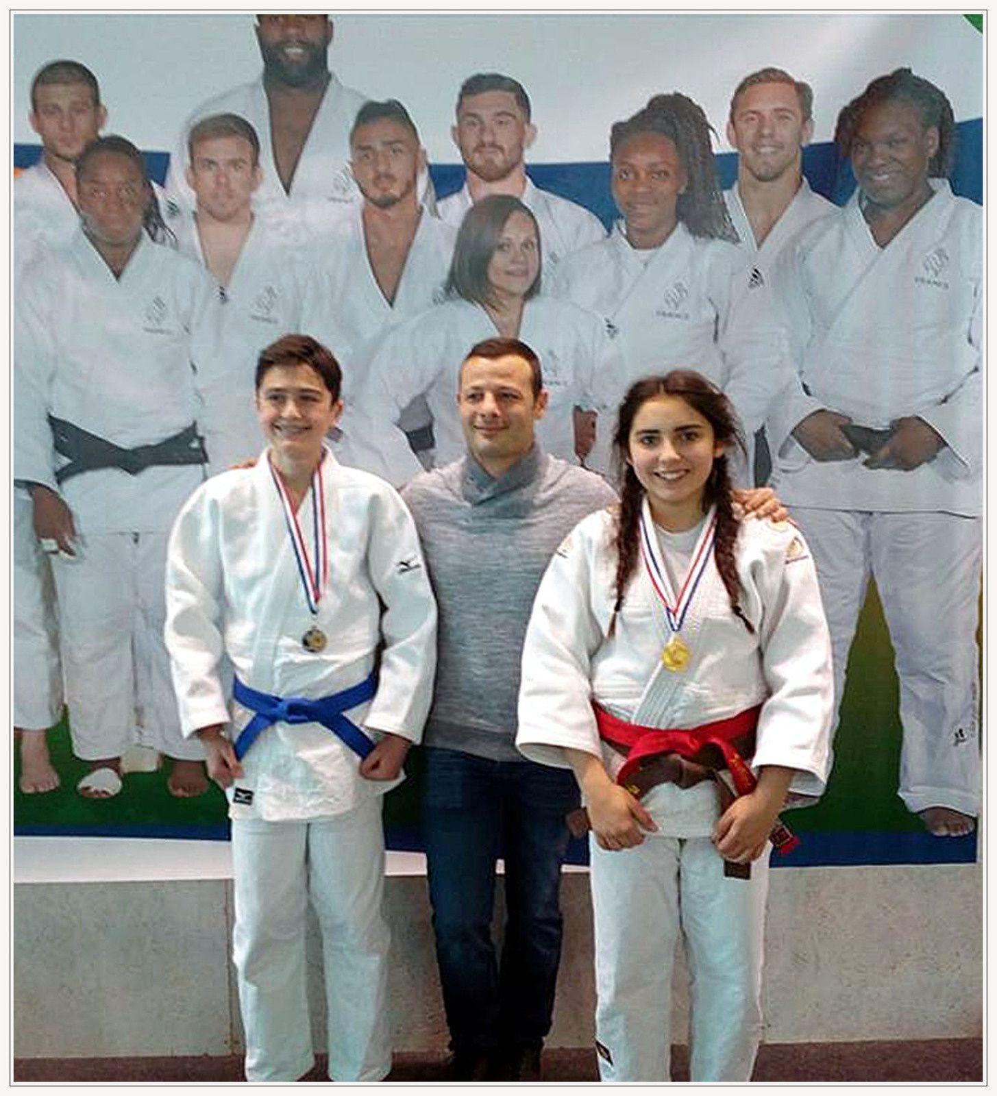 Le judo club de St André encore et toujours à l honneur!