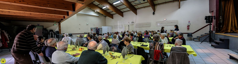 Repas spectacle pour les clubs des aînés du secteur du Verdon et d'Annot.
