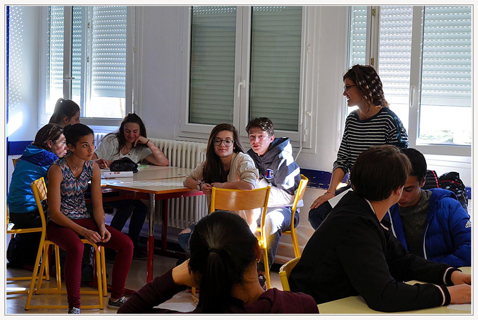 Saint André les Alpes : Le collège bouge son...territoire !