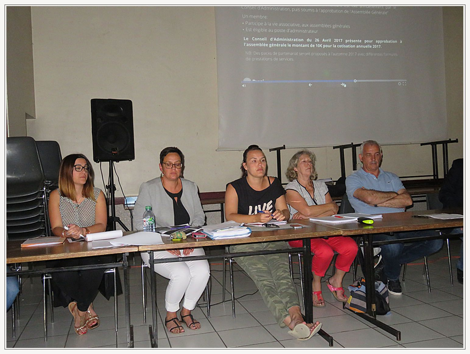 Saint André les Alpes : Première assemblée générale pour le nouvel OTi