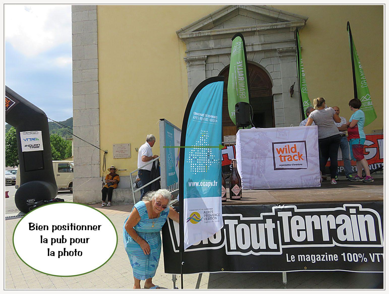 Saint André les Alpes : Ils sont arrivés sur les chapeaux deux roues