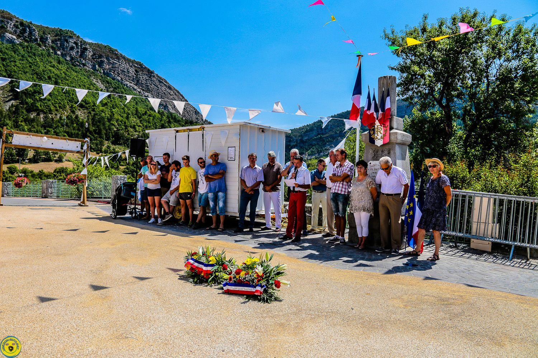 Fête de St Julien du Verdon, le discours  et les photos