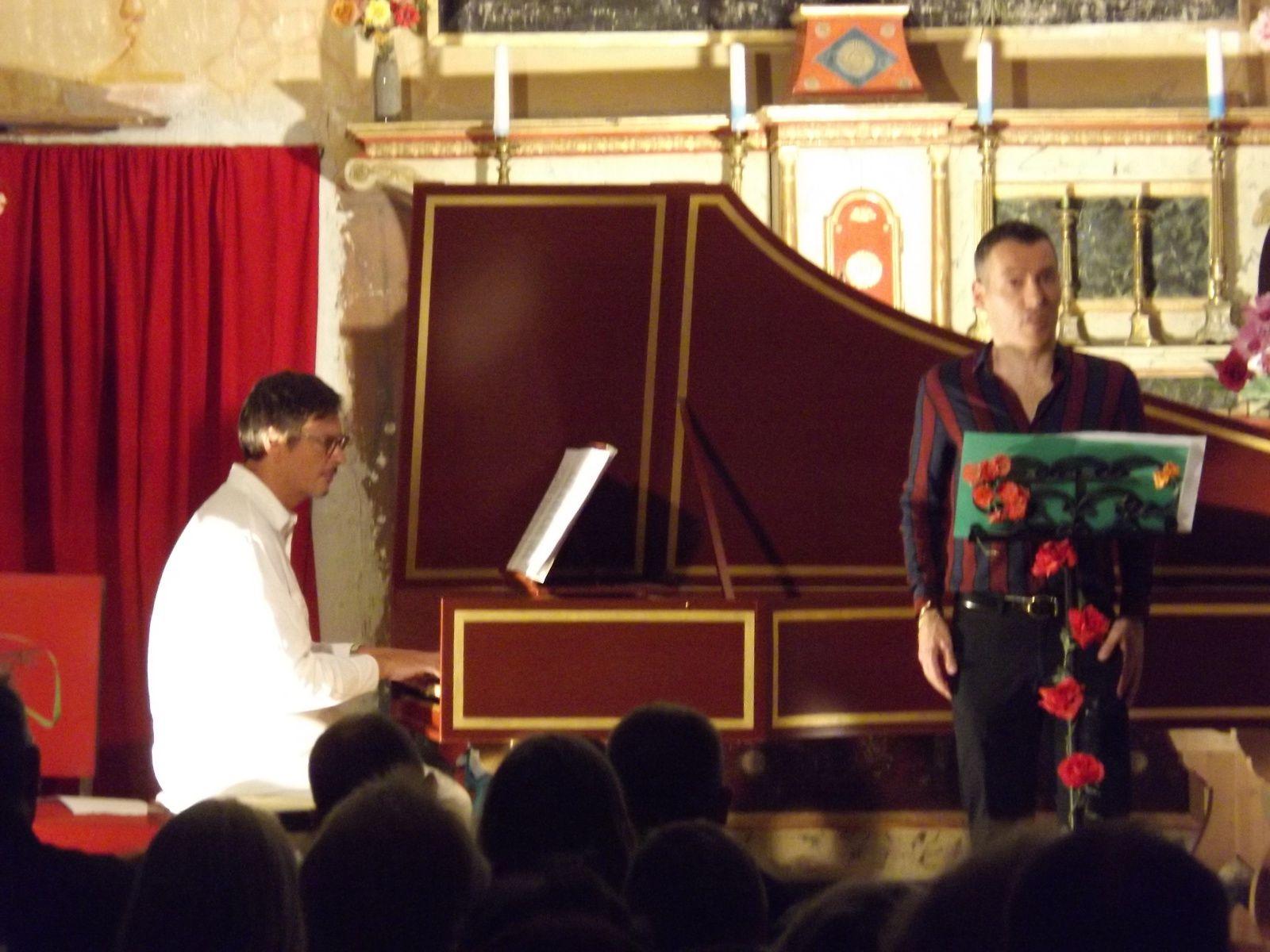 Clumanc mélodies baroques pour le festival Asse Arcadie