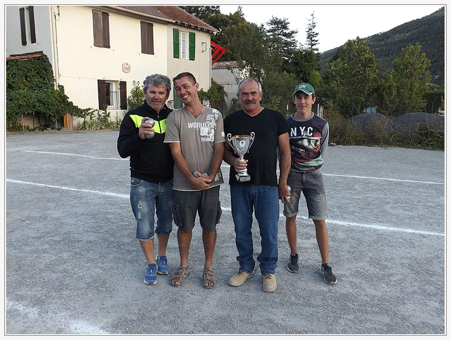 concours de boules des Sapeurs Pompiers BARRÊMOIS