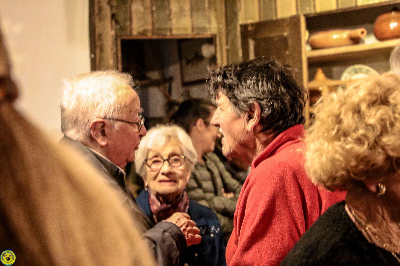 La Maison Musée  de Colmars , Projection « les mémoires d'un Clocher » de Robert Martin , succès , émotion et convivialité