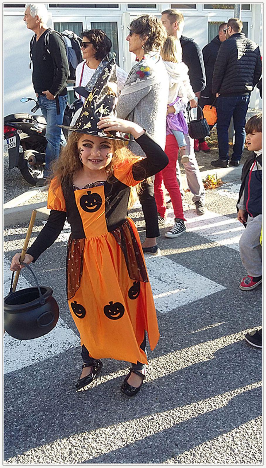 Saint André les Alpes : Météo printanière pour Halloween !