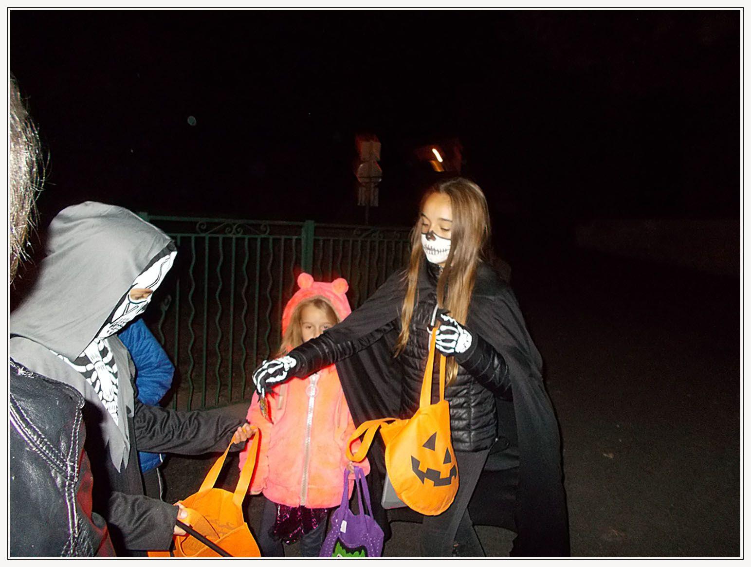 La Mure Argens  : Halloween fêté par la jeunesse locale